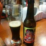 Porter Piconera, cerveza artesana de Tierra de Frontera (Alcalá La Real, Jaén). De la amplia car