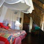 Main front bedroom facing Zambezi river