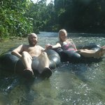 Tubing down the White River!