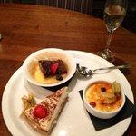 Sharing dessert