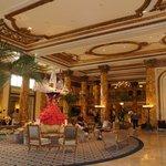 Lobby of the Fairmont