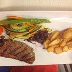 Blackened Angus Steak