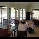 Armstrong villa main living area