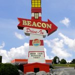 My Image of the big Beacon sign