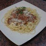 Our spaghetti bolognese