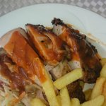 Jerk Chicken at the pool grill...yummm