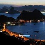 Anoitecer vista do Parque da Cidade Niterói RJ