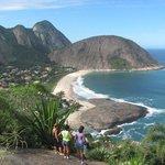 Praia de Itacoatiara Niterói RJ