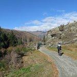 The bike track