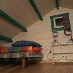Bed on loft