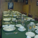 Officers dining room