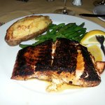 Salmon, just right!
