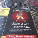 Blackbeards Slices and Ices