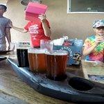 canoes of beer