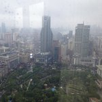 A smoggy day in Shanghai