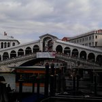 A pic approaching the Rialto for the first time