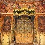 ornate room in Palazzo Mansi