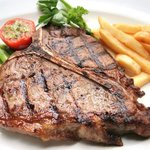 delicious huge steak for such an unbelievable price!
