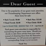 Sign in guest rooms
