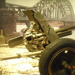 A piece of artillery