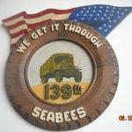 A Seabee logo