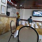 El servicio de restaurante muy bien