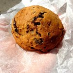 The famous pumpkin cookie with chocolate chips and walnuts