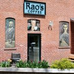 Rao's Coffee side entrance
