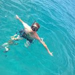 Snorkeling at Sandy Cay