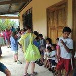 Children in a local village