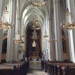 Iglesia Agustina, donde se casaron los reyes