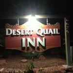 Desert Quail Inn Sedona 看板