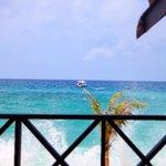 view from Tunamaya lobby
