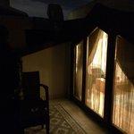 балкон под самой крышей