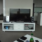 Our room TV/HiFi set up provided plus Wi-Fi available. May be free if you stay longer than 7 nig