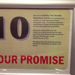 this promise don't mean anything! As they don't take complaints serious