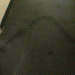 carpoet in hallway leading to guest rooms