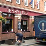 Delivery of the beer to Jenny Lind