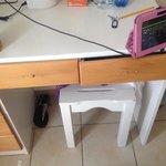 Old broken furniture