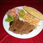 Grilled Ostrich Steak
