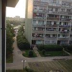 Вид из окна корпуса А.