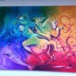 Vicente Huamánq's acryl painting