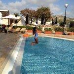 Kids outdoor pool