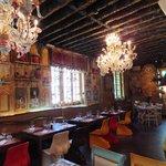 Decor inside the Restaurant