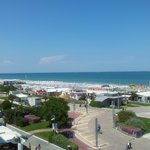 Blick Balkon Promenade/Meer