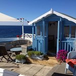 Stunning sea views on the terrace