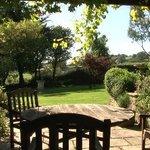 Outside seating - Summer Lodge Devon
