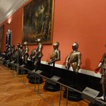 One of the many armour rooms