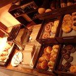 Intercontinental Hotel Club Lounge breakfast bread section