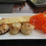 Tapas: Hokkaido scallops